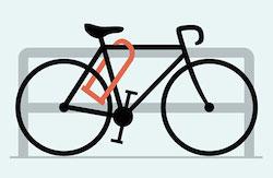 Lisbon Lock Bike